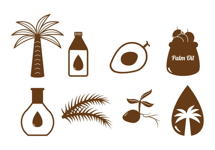 vitamin tropilal tree set seed sawit resource raw product palm oil oil nature natural material malaysia kelapa isolated industry indonesia icon harvest graphic fresh element drop design cooking commodity cholesterol agriculture
