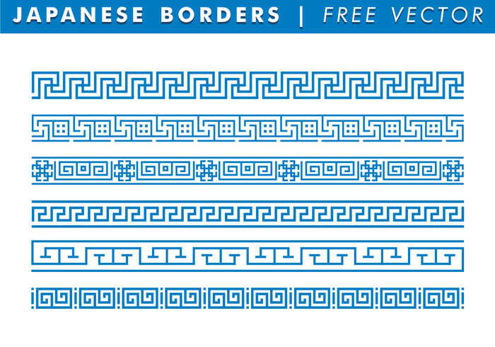 Japanese Borders Free Vector 137515 - WeLoveSoLo