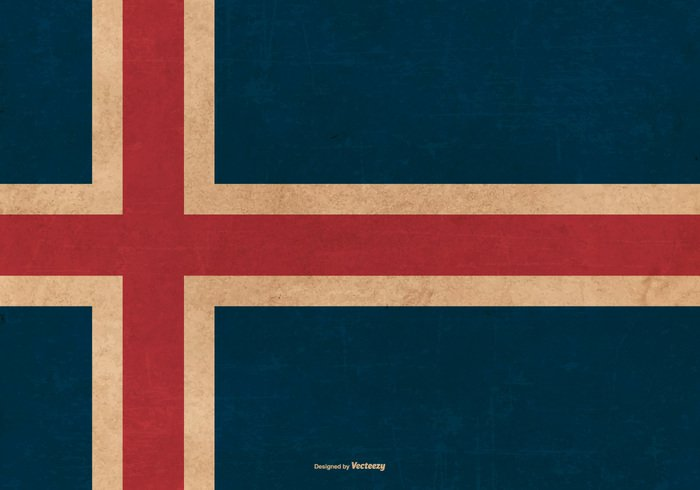worn weathered vintage vector flag texture symolism symbol stripe state spotted revival retro Republic red pattern Patriotism patriotic paper painting old north national material island icelandic iceland flag iceland history grunge flag grunge freedom frame flags flag european Europe dirty design day Damaged cross country flag country celebration canvas brown border blue background antique ancient aged abstract