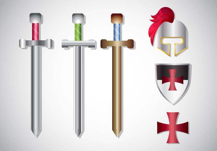 white weapon Warriors warrior war vintage vector traditional the templar team tattoo symbol swordsman sword style strict steel sport team sport spirituality spiritual simple silhouette sign shield sharp shape set security secure school safety retro red protection protect Past paladin order old objects object Noble nobility monarchy military Middle metal medieval mascot man longsword land Knights knighthood knight kingdom isolated iron insignia image illustrations illustration icon holy history historical historic Hilt hero heraldic helmet heavy handle guard group gray graphic frame Forces Force flat flag Fight equipment emblem Duel drawing draw design Defense defender decoration dark danger dagger Crusades Crusader crusade cross Courage Concepts college collection classic Christianity chivalrous Catholicism catholic cartoon cape button broadsword Brave blade black Battle banner Backgrounds background art arms armor Armed aristocratic antique ancient ages