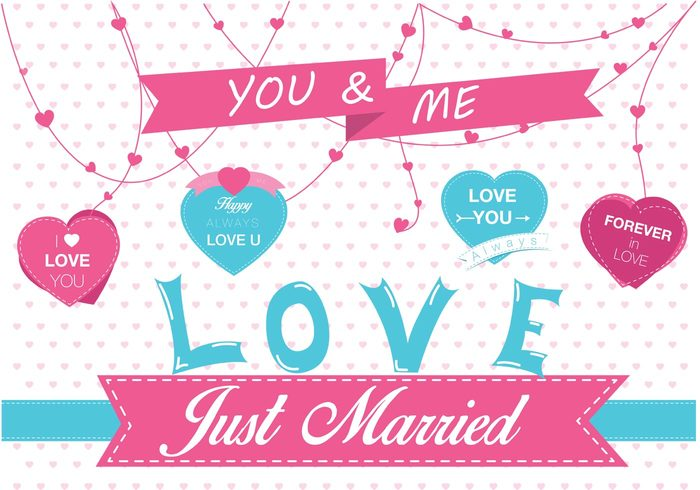Your text here write White Background wedding text sign ribbon message marriage love background love just married label just married bakground just married heart shape blackboard heart garland heart bunting heart background heart Copy-space
