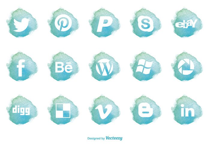 wordpress icon windows icon Windows web icon web watercolor icons watercolor water color icon vector icons vector twitter bird icon trendy technology symbol speech socoal media social media icons social sign set Pinterest icon phone people painted network modern mobile media internet information illustration icons icon set icon hand group global facebook icon ebay icon digg icon design connection business bubble blog background