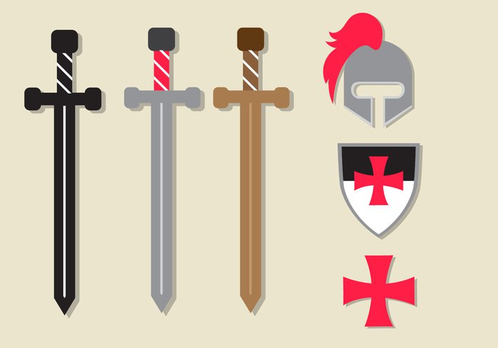 white weapon warrior war vector traditional the templar symbol sword style steel spirituality spiritual simple silhouette sign shield sharp shape set security secure safety retro red protection protect Past paladin order old objects object Noble nobility monarchy military Middle metal medieval man longsword land Knights knighthood knight isolated iron insignia image illustrations illustration icon holy history historical historic Hilt heraldic handle guard group gray graphic Forces flat Fight equipment Duel design Defense danger dagger Crusades Crusader crusade cross Courage Concepts collection classic Christianity Catholicism catholic cartoon button broadsword blade black Battle banner Backgrounds background art arms armor Armed aristocratic antique ancient ages