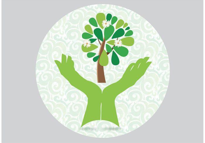 tree leaf hand green gardening hands gardening garden wallpaper garden background garden eco earth day