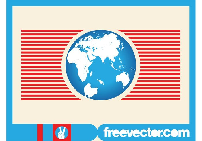 world stripes planet logo lines icon globe global geography earth continents branding