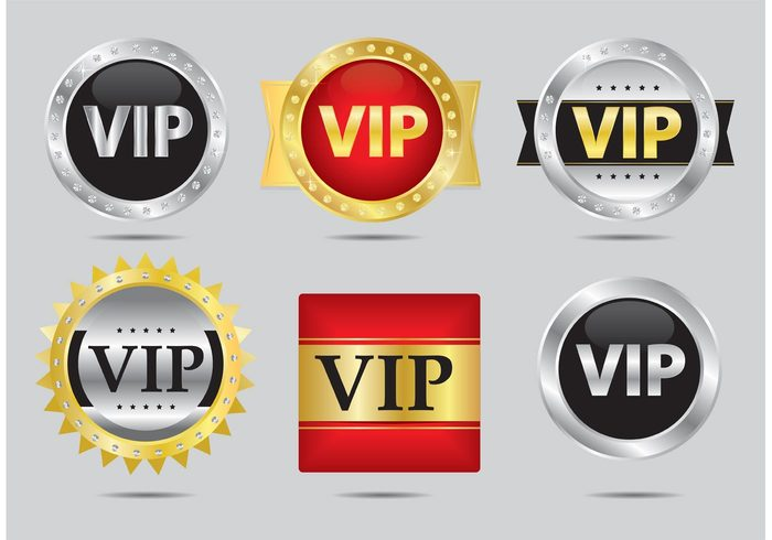 vip icon badge vip icon vip tag symbol sign royal rich quality product premium Platinum packaging luxury label isolated golden gold exclusive elegance badge
