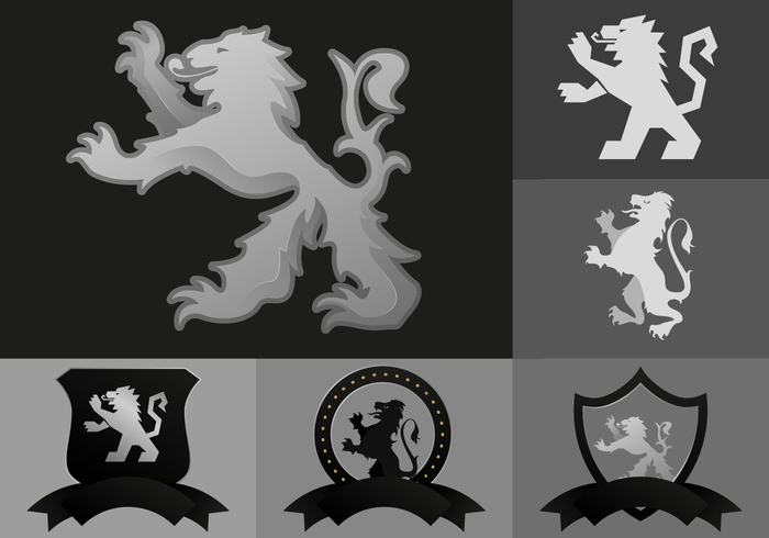 UK tattoo symbol shield royalty royal roaring rampant old Nationalist national mythical myth medieval lion rampant lion kilt insignia image illustration icon heraldry heraldic graphic Gaelic emblem design badge art antique animal