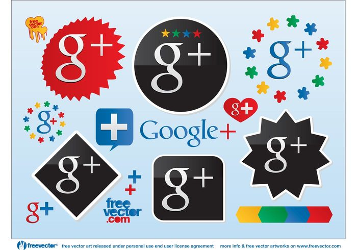 web 2.0 web social media social sharing share seo logo icon google plus google g+ blog