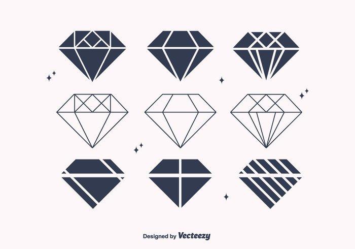 trendy shine jewel geometric gemstone gem free flat diamond flat diamonds crystal colorful brilliant background