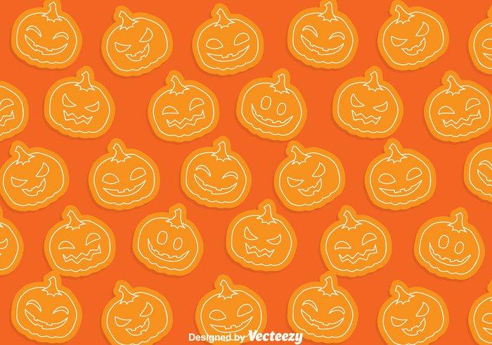wallpaper seamless pumpkin patch pumpkin pattern orange happy halloween fun expression background backdrop autumn