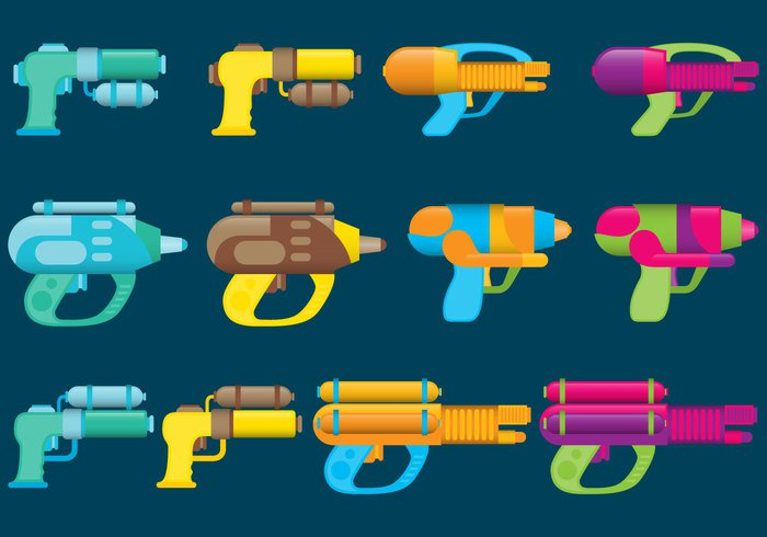 yellow white wet weapon war traditional toy thailand Thai summertime summer squirt spray sports songkran shoot season pump playful play plastic pistol orange object Nozzle liquid kid isolated hot happy happiness handle handgun gun green game fun Fight festival fake children childhood blue background April