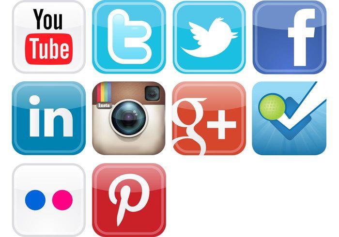 twitter social media icons social media icons flickr
