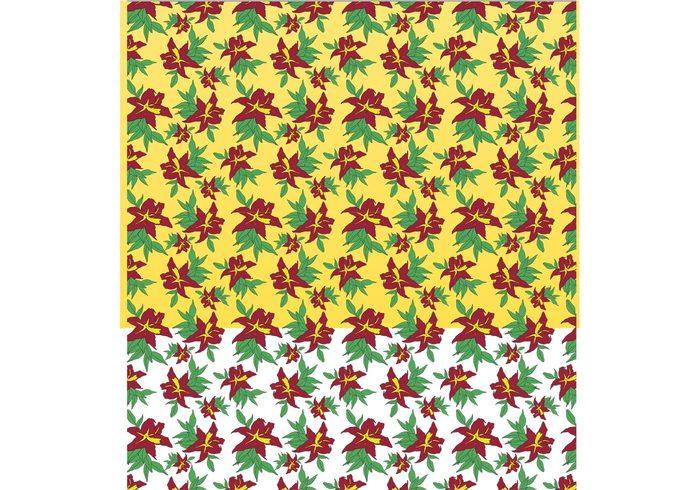 yellow summer spring red plant petal pattern nature green flower floral flora elegance decoration colorful clip art bouquet botanical blossom bloom