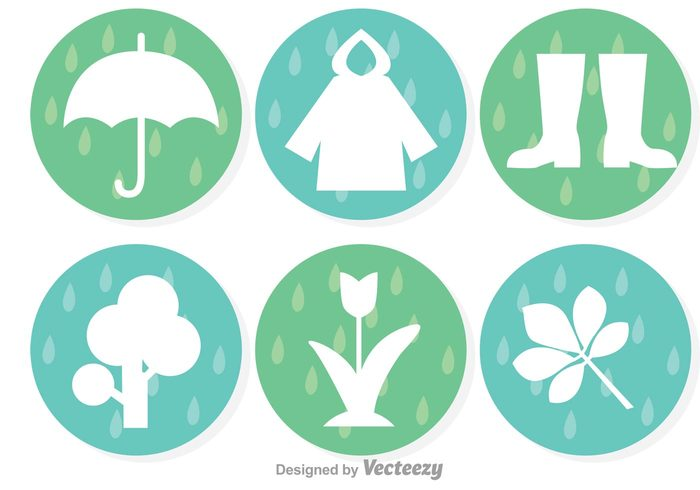 weather icon tree spring showers spring shower spring icon spring showers rainy raining Raincoat rain icon rain outdor leaf grass flower boots activity
