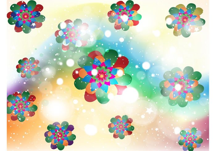 Stoned stars sparkle sky sixties shine seventies psychedelic nature Lsd high flowers floral Cool backgrounds abstract