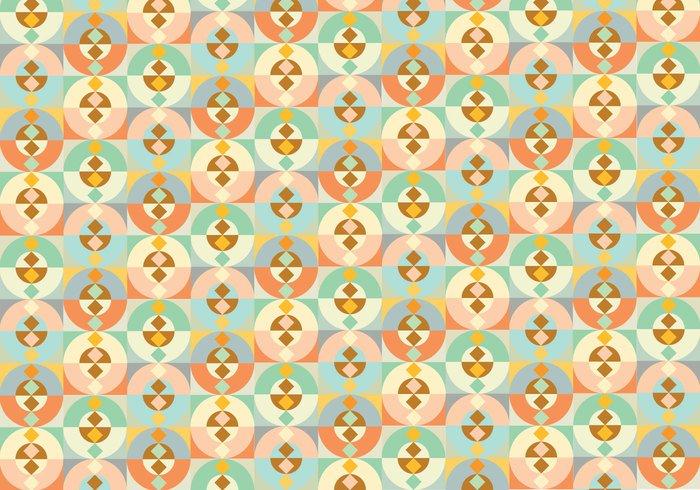 wallpaper shapes seamless random pattern pastel colors ornamental Geometry geometric decorative decoration deco background abstract
