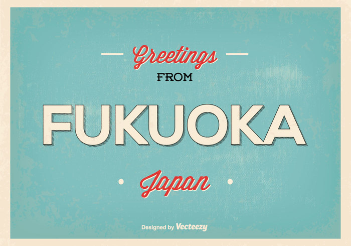 white welcome vintage vector travel symbol sky retro postcard retro poster postcard Post card night Metropolis landscape landmark Japanese japan greeting japan illustration icon horizontal holiday hello from japan hello from fukuoka greetings from greeting card greeting fukuoka japan fukuoka flat Destination design dark cover cityscape city cards card business beautiful banner background asia postcard asia