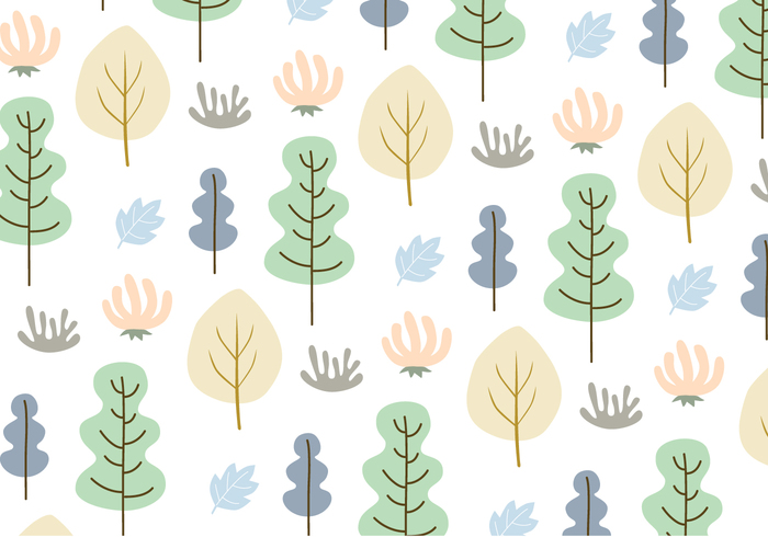 wallpaper tree seamless pattern pastel colors ornamental nature leaves pattern leaves leafs leaf pattern decorative decoration deco bushes background abstract leaves
