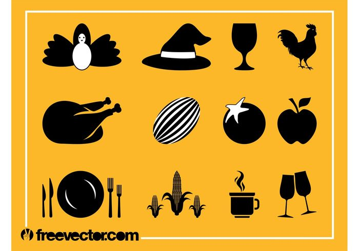 wine glasses watermelon Turkey roast turkey tomato thanksgiving rooster poultry meat meal icons icon glass food eat corn chicken apple