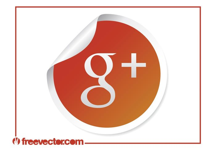 website web sticker social networking social network online logo internet icon google plus google g+ button badge