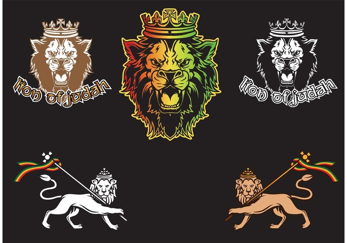 tshirt design tee shirt seal ruler rock and roll religion Reggae red Rastafarian Rasta one love monarch lion of judah lion leader knight king jesus jammin jamaica hip hop heraldic green emblem crown coat of arms Christianity caribbean culture Caribbean black