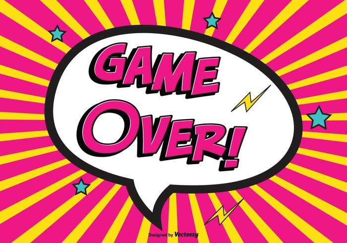 the end text sunburst stamp sign set score red post playing play game play over note lose interface illustration graphic games gamer game-over game over vector game fun background fun fin failure end design defeat comic style comic bubble comic background comic colorful cartoon bright Backgrounds art