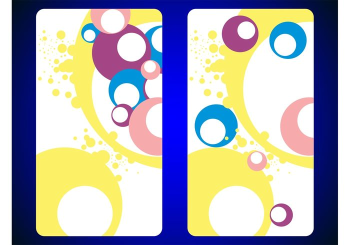 wallpapers templates sixties seventies round Rectangles posters dots colors colorful circles Backgrounds abstract 70's 60's