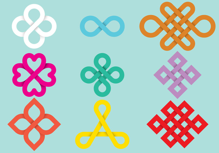 unity uninterrupted trendy trend symbol sign shape set round ring ribbon ornament looped loop logo line infinity infinite loop illustration Idea geometric flat eternity emblem element design cycle creative corporate Cooperation continuous connect concept collection business abstract