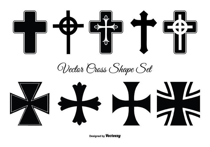assorted cross shape set 143156 welovesolo