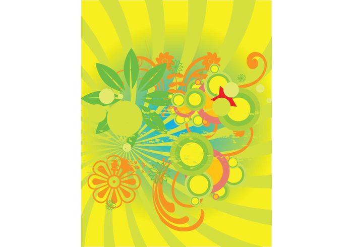 yellow sweet summer spring orange nature happy green garden fun flowers daisies colors colorful cheerful bright bouquet