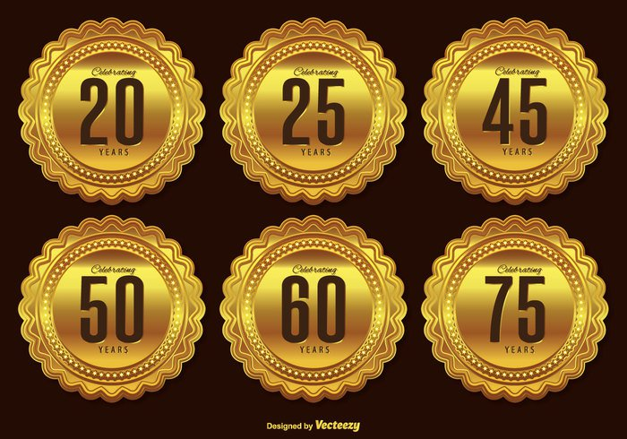 year wedding website web symbol success star stamp sign shiny seal round Rosette quality party metallic memorial marriage marketing laurel label jubilee internet icon homepage happy anniversary happy graduation gold label gold badge gold emblem embellishments decoration customer company certificate ceremony celebration celebrate button business birthday best banner badge background award anniversary badge anniversary