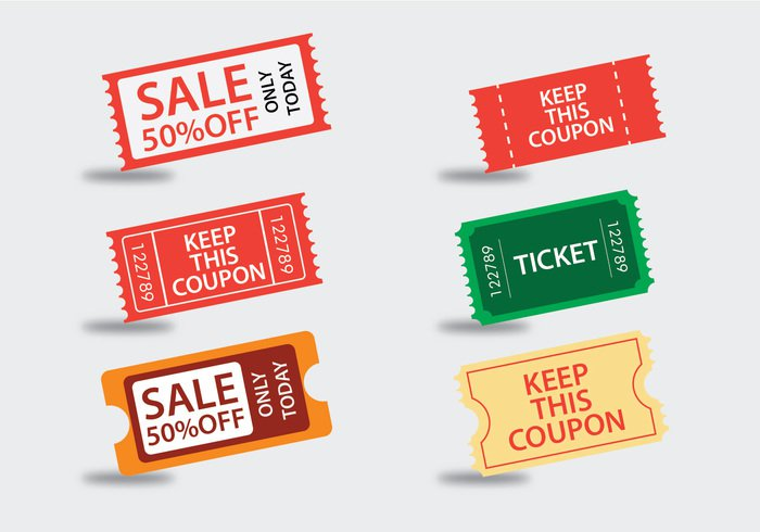 vintage vector ticket design ticket theater symbol spiral coupons sitting sign show seat sales coupon round coupons room retro projection production party paper one old movie leisure latest trend isolated icon home flat film entry entertainment design delivery curved coupons coupon concert ticket stubs concert ticket stub concept colorfull cinema brown background admit admission 50% off
