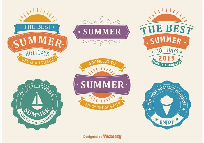 welcome voyage vintage vacation typographic tropical travel sunshine sunny sun summer label summer badge summer stamp seasons season sea retro party paradise label Journey holiday beach