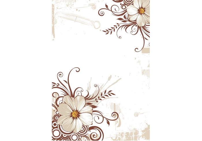 wallpaper swirly swirls swirl flowery flower floral backgroud