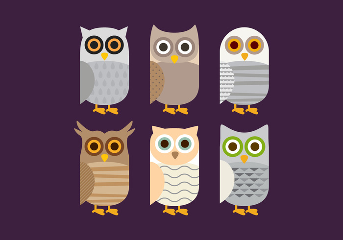 wing wildlife wild white vector themes symbol style Species snowy simple set screech pattern owlet owl nature long isolated illustration icon Horned grey great funny fun flying flat eye element eared eagle drawing doodle design cute collection cheerful character cartoon bird barn owls barn owl barn animal abstract