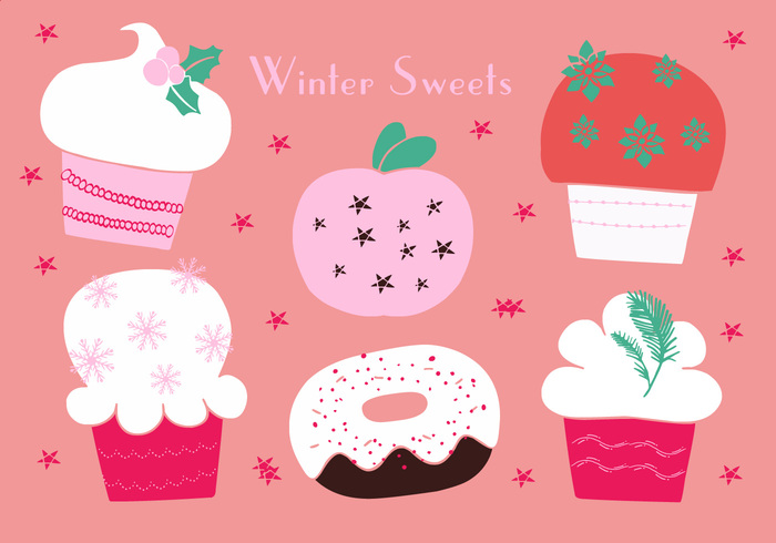 year x-mas winter whipped vector Various tree Tradition Topping swirl sweet sugar star sprinkle snowman snowflake set santa pastry party object new isolated illustration icon icing holly holiday gastronomy food fir festive event dessert decorated custom cupcake Cuisine cream cookery confectionery colorful Claus christmas celebration cane cake Berry baking assorted
