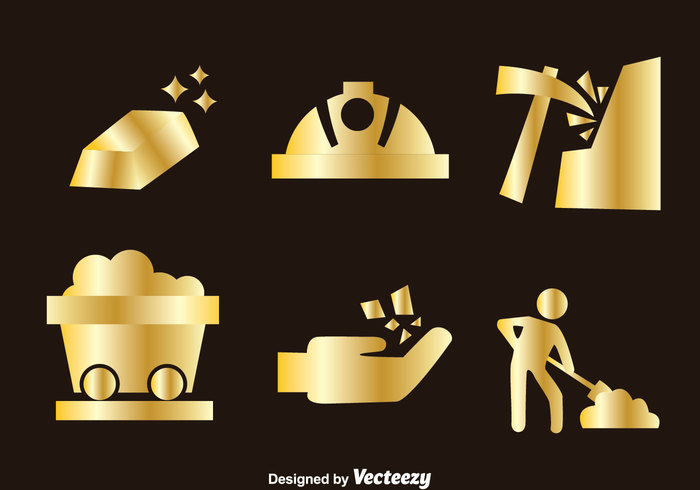 Icon Tile Work : Gold mine icons welovesolo