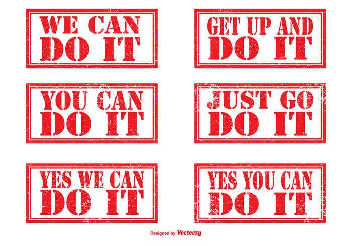 You Can Do It you can you yes you can winner win we can do it vector symbol success stamp set stamp stamina sign rubber stamp rubber red purpose positive persistence perseverance obstinacy notice motivational stamps motivational message Mentality Mental illustration icon grunge stamps grunge fortitude fearlessness fearless determined determination Decision Courage can Bravery Brave belief attitude