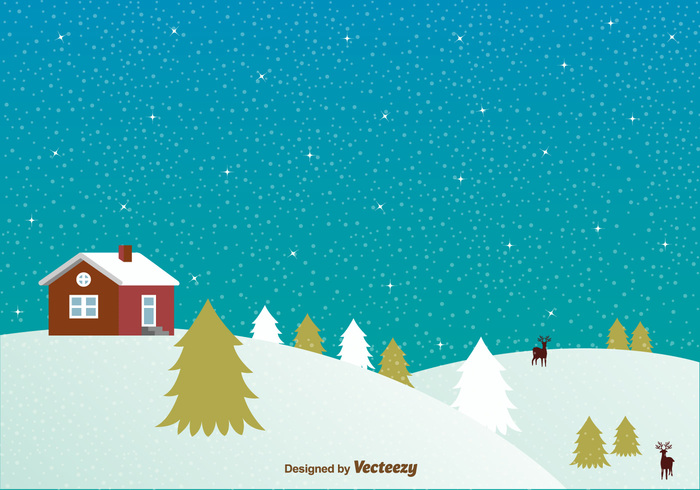 year xmas winter window tree snowy snowflake snow sky season pine night log cabin snow log cabin in the snow landscape house home holiday forest December cold christmas blue background