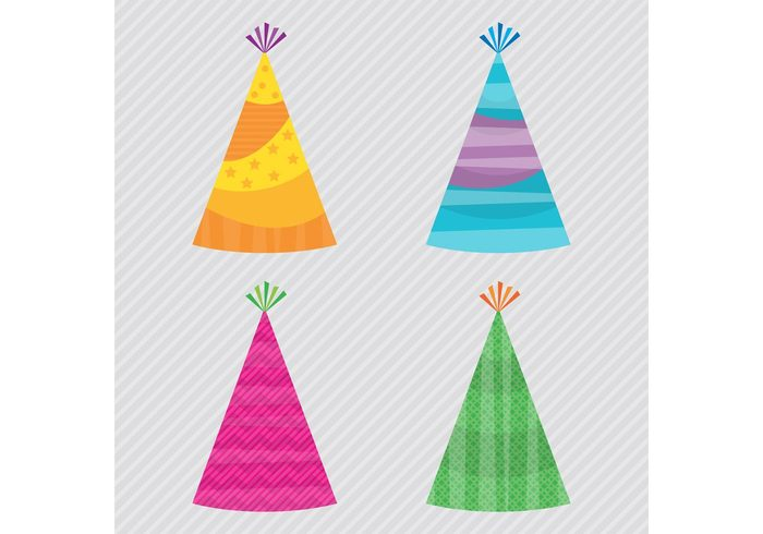 Party Hat Vectors 104298 - WeLoveSoLo
