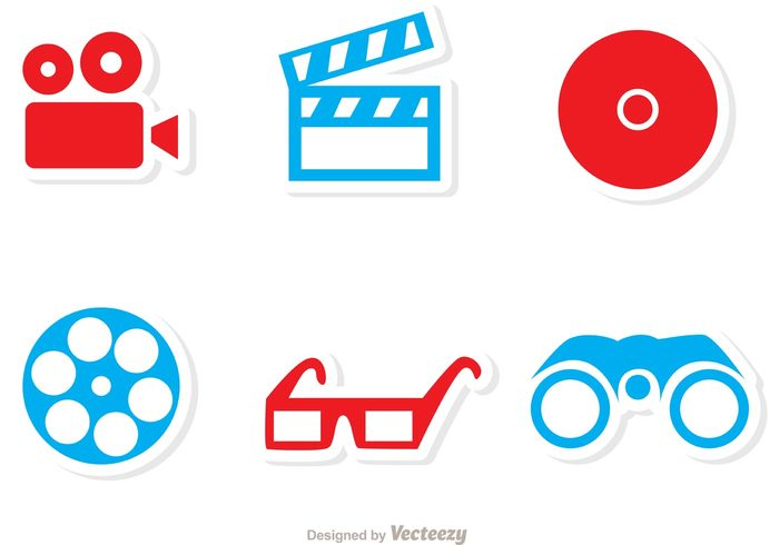 video tv Theatrical theatre theater symbol stage spectacles sign pictogram movies movie pictogram movie glasses free vector sign pictograms film strip film entertainment DVD disc director cinema CD camera binocular