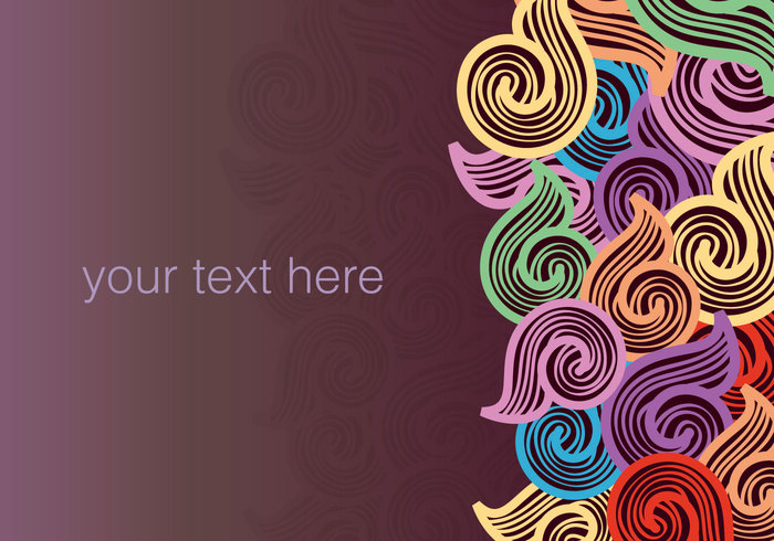 wedding wave wallpaper vector texture text template tattoo SWIRLY LINES swirl shape retro pattern outline ornamental ornament notebook nature lined invitation illustration graphic frame flower flourish floral elements element drawn drawing doodle design decorative decoration creative concept color clip art card brochure border beauty background backdrop art abstract