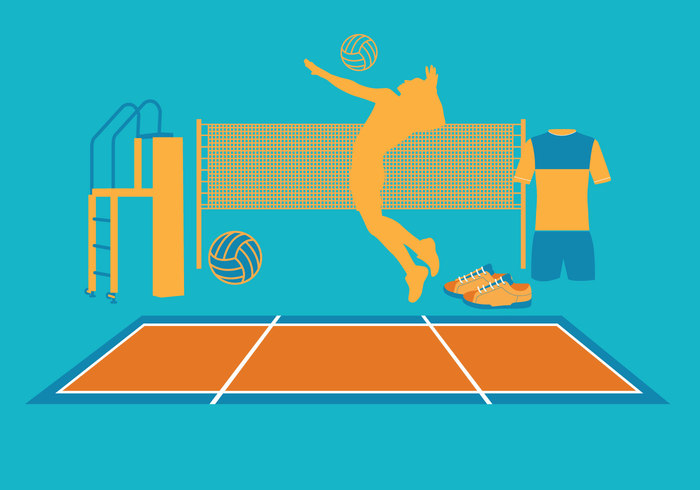 volleyball vector volleyball Volley travel summer sport silhouette Relaxation recreational Recreation Pursuit playing play outdoors nature men lifestyle jump Idyllic holiday group game beautiful ball activity