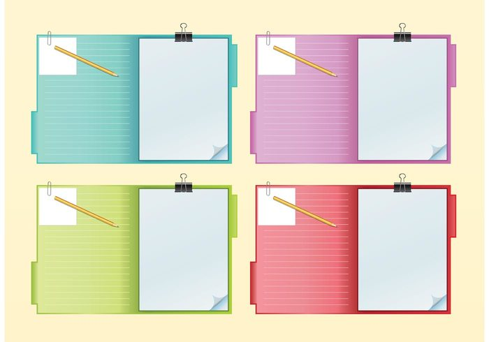 writing school pencil paper page Organization office objects notebook note message illustration empty element document diary Copybook business