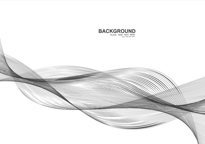 white wave wallpaper technology stripes line gray flowing design copyspace Compositions business background backdrop abstract