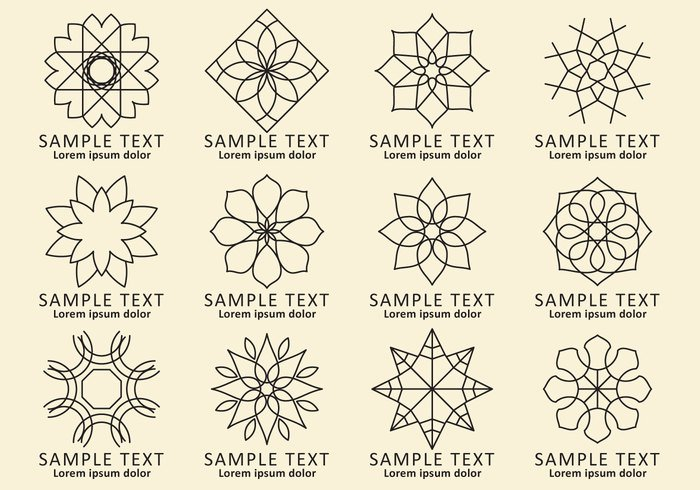 vintage vector traditional Thai template symmetry symbol style spirograph pattern Spirograph sign set round retro religion radiant pattern ornate ornamental ornament mosaic mehendi Mandala logo lineart line insignia indian identity icon hexagon graphic geometric flower floral emblem element editable design decoration circular circle business brand background Asian art arabic arabesque arabesco ancient