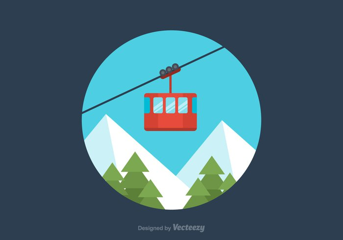 winter white weather Way vector vacation trip tree travel transportation transport tourism sport snow sky ski season ropeway rope resort Recreation Outdoor nature mountain lift lifestyle leisure landscape illustration holiday hill gondola funicular forest flat design concept cold car cable car cable cabin blue banner background Alpine
