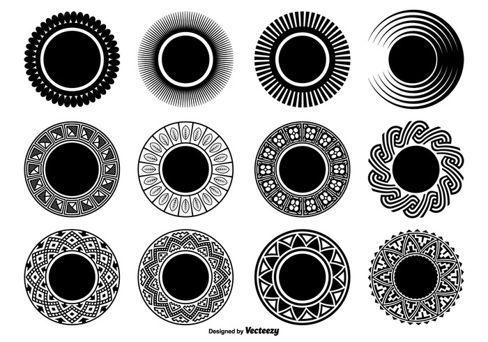 whirl Twist symbolic symbol swirl spiral simple shapes simple shape set shape set round shapes elements design element decorative shapes decorative collection circular circle shapes circle bw business branding black abstract shapes abstract