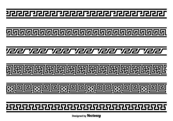 Greek Key Style Border Set 134350 Welovesolo