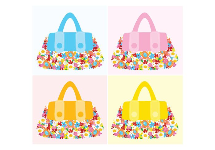 woman summer spring lifestyle joy inspiration hippie girl fun flowers flower power fashion color bags